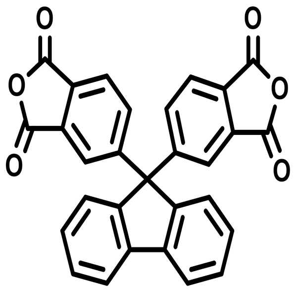 Bis phthalic anhydride fluorene